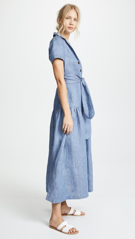 Clothing Manufacturer Striped Maxi Dresses For Women Summer